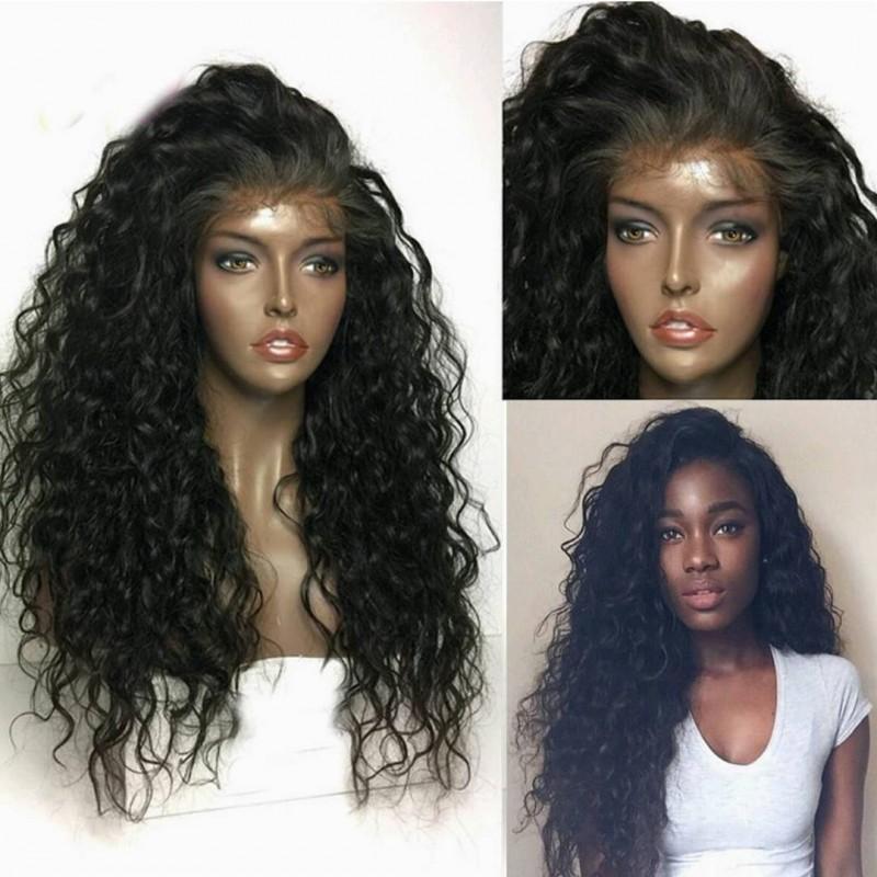 On Sale Pre Plucked Brazilian Virgin Curly Wave Human