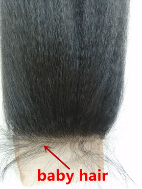 Brazilian Virgin Kinky Straight Lace Front Closure For