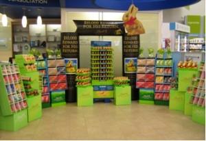 Lindt, chocolates, retail, display, packaging