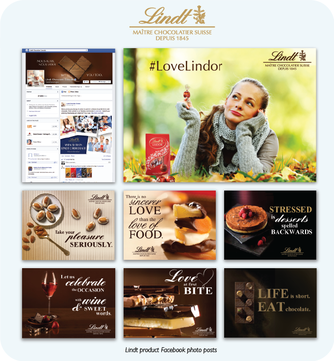Lindt Chocolate: Social Media - Beakbane Brand Strategies and Communications