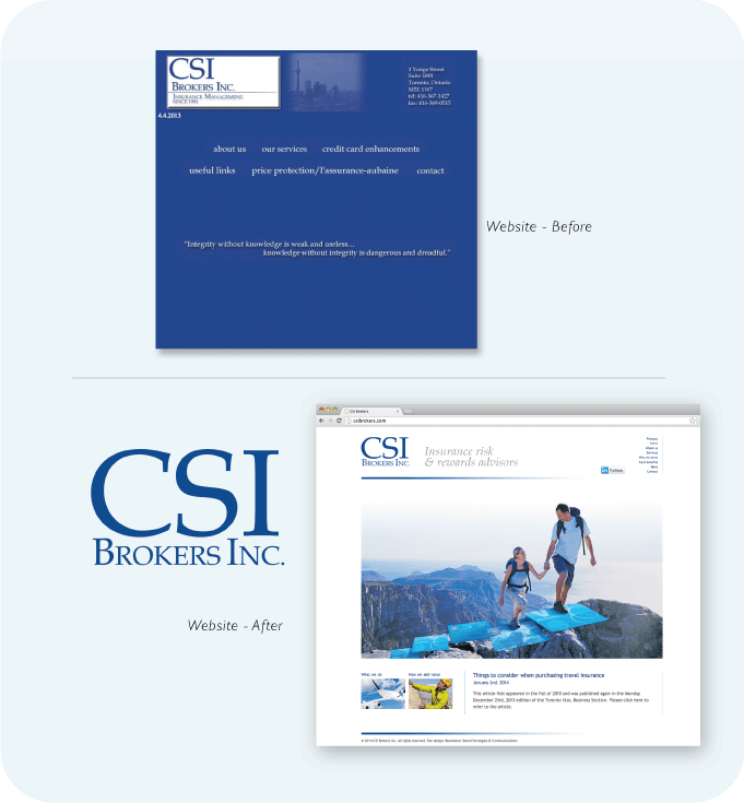 Case Study - CSI Brokers Inc.