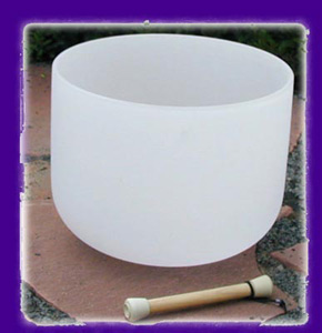 Crystal Singing Bowl