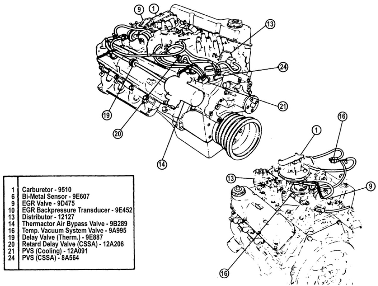 Ford 4 6 Cooling System Diagram