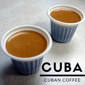 cuban coffee