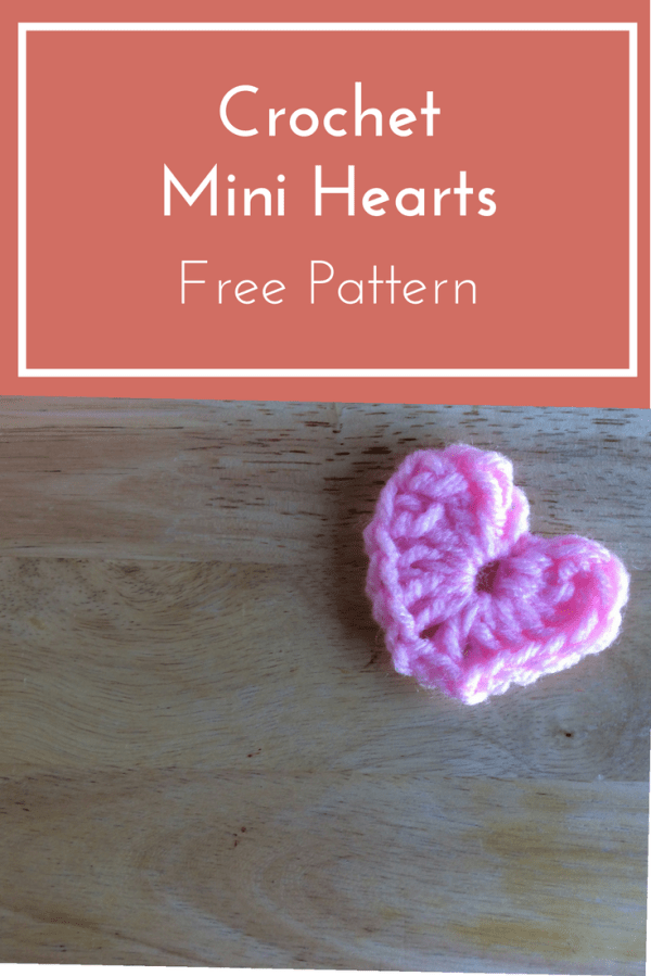Valentines Day Mini Crochet Hearts Tutorial - Beanies ...