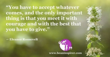 Acceptance Is An Art Of Giving Your Best