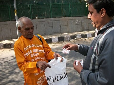 The Delhi man who had collected medicine from the normal household to start a medicine bank for the poor