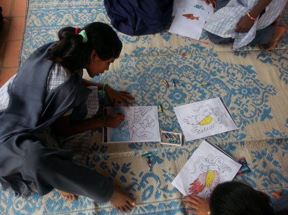 Padmaja-Ramamurthy-APSA-Dream-School-Art-Class-Be-An-Inspirer