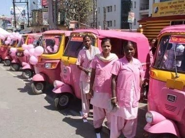 Pink-Auto-Rickshaws-dedicated-solely-for-women-Be-An-Inspirer