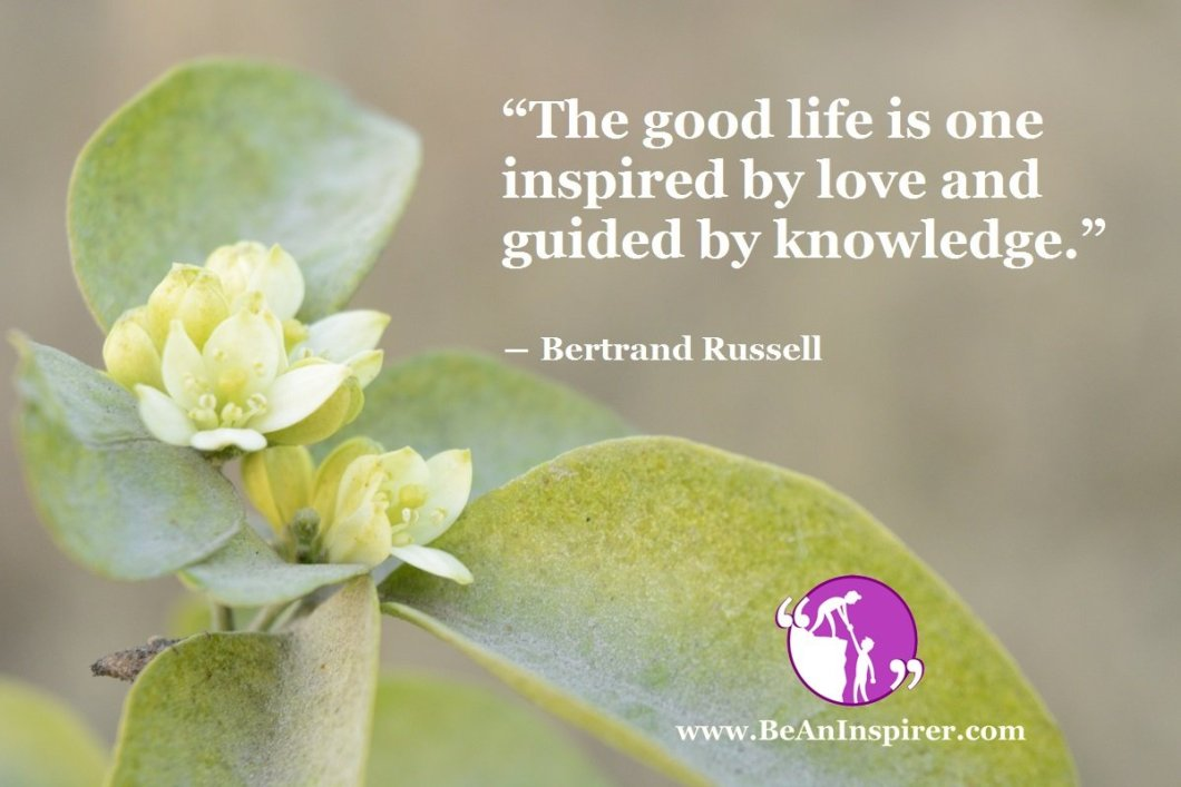 Without Love And Knowledge, Life Is Incomplete