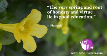 Fighting Out The Woes Of Dishonesty Through Good Education