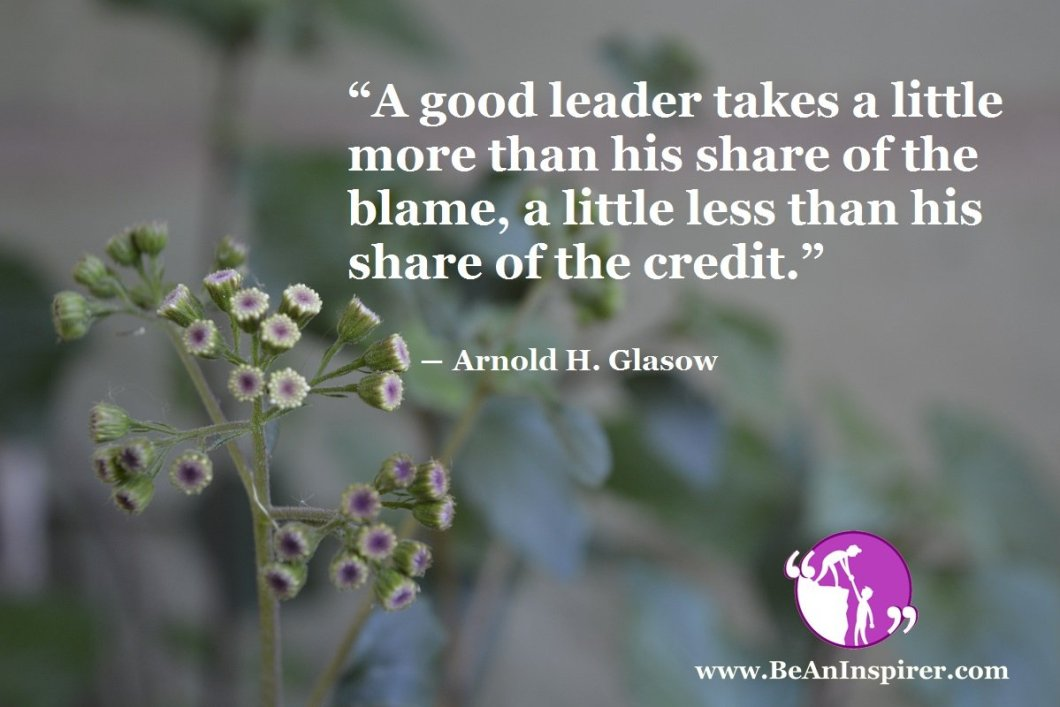 Selflessness and Unbiased Attitude of the Leader: The Backbone of a Successful Group