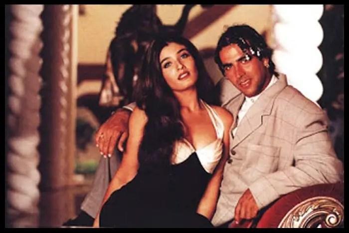 Akshay-Kumar-with-Raveena-Tandon-Be-An-Inspirer
