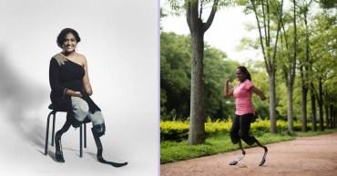 Inspiration has no Boundaries – Story of Shalini Saraswathi, the Indian Blade Runner!