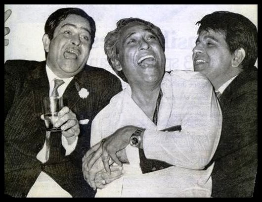 Bollywood-Actors-Raj-Kapoor-Ashok-Kumar-and-Dilip-Kumar-Be-An-Inspirer