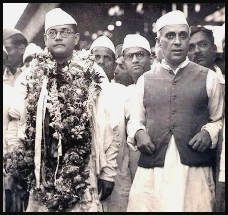 Jawaharlal-Nehru-with-Netaji-Subhash-Chandra-Bose-Be-An-Inspirer