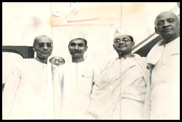 Chakravarti-Rajagopalachari-with-Rajendra-Prasad-Subhas-Chandra-Bose-and-Sardar-Vallabhbhai-Patel-Be-An-Inspirer