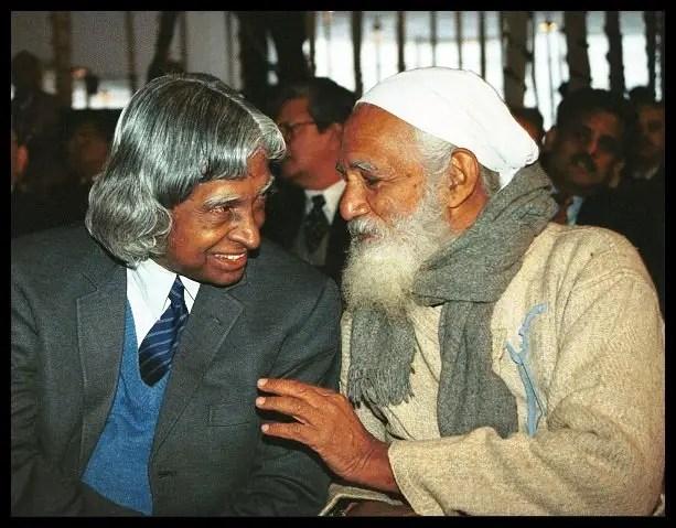 Environment-Sunderlal-Bahuguna-with-Dr-A-P-J-Abdul-Kalam-Be-An-Inspirer