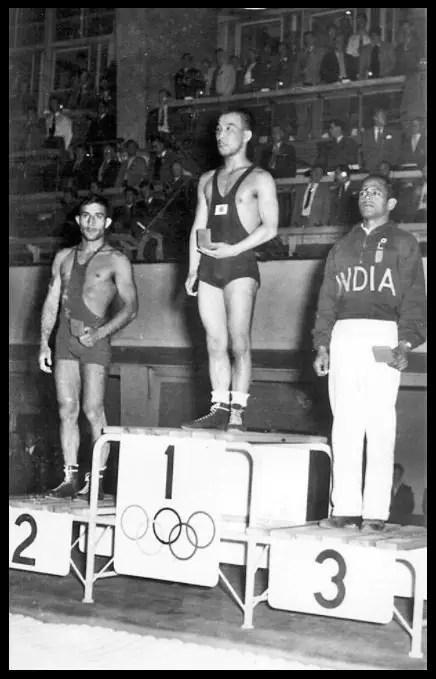 Khashaba-Dadasaheb-Jadhav-at-the-1952-Summer-Olympics-Be-An-Inspirer