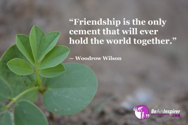 Friendship-is-the-only-cement-that-will-ever-hold-the-world-together-Woodrow-Wilson-Friendship-Quote-Be-An-Inspirer