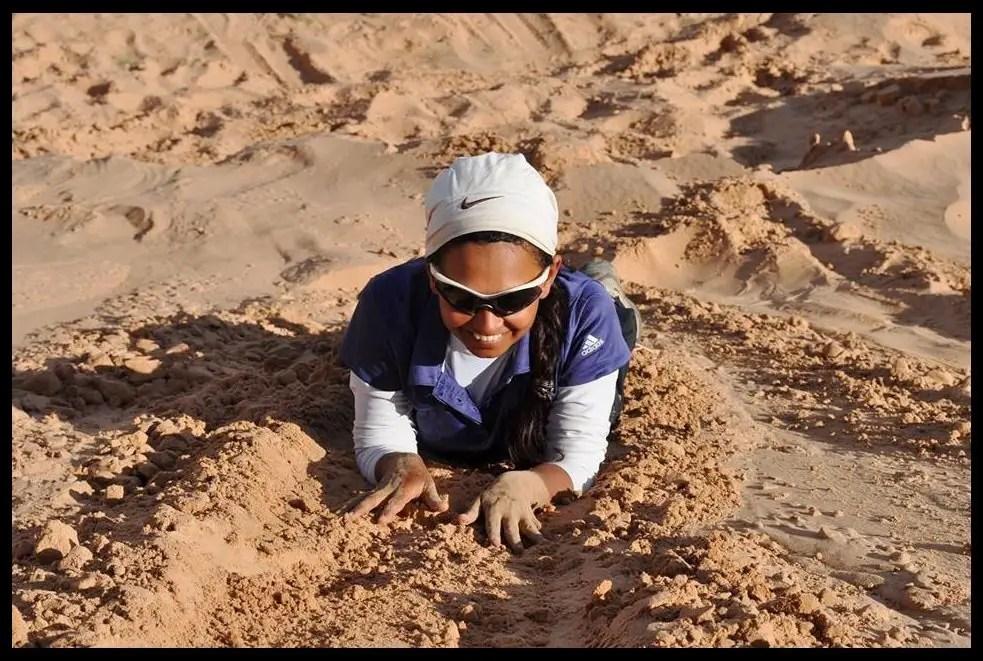 Sucheta-Kadethankar-during-the-Gobi-Desert-Expedition-2011-Be-An-Inspirer