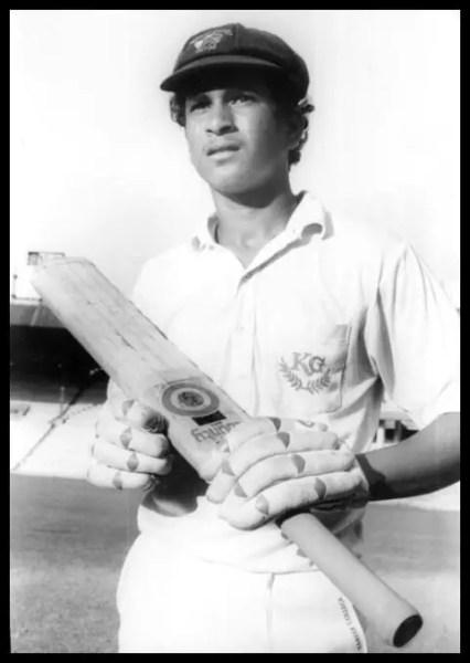 Rare Childhood Photo of Sachin Tendulkar