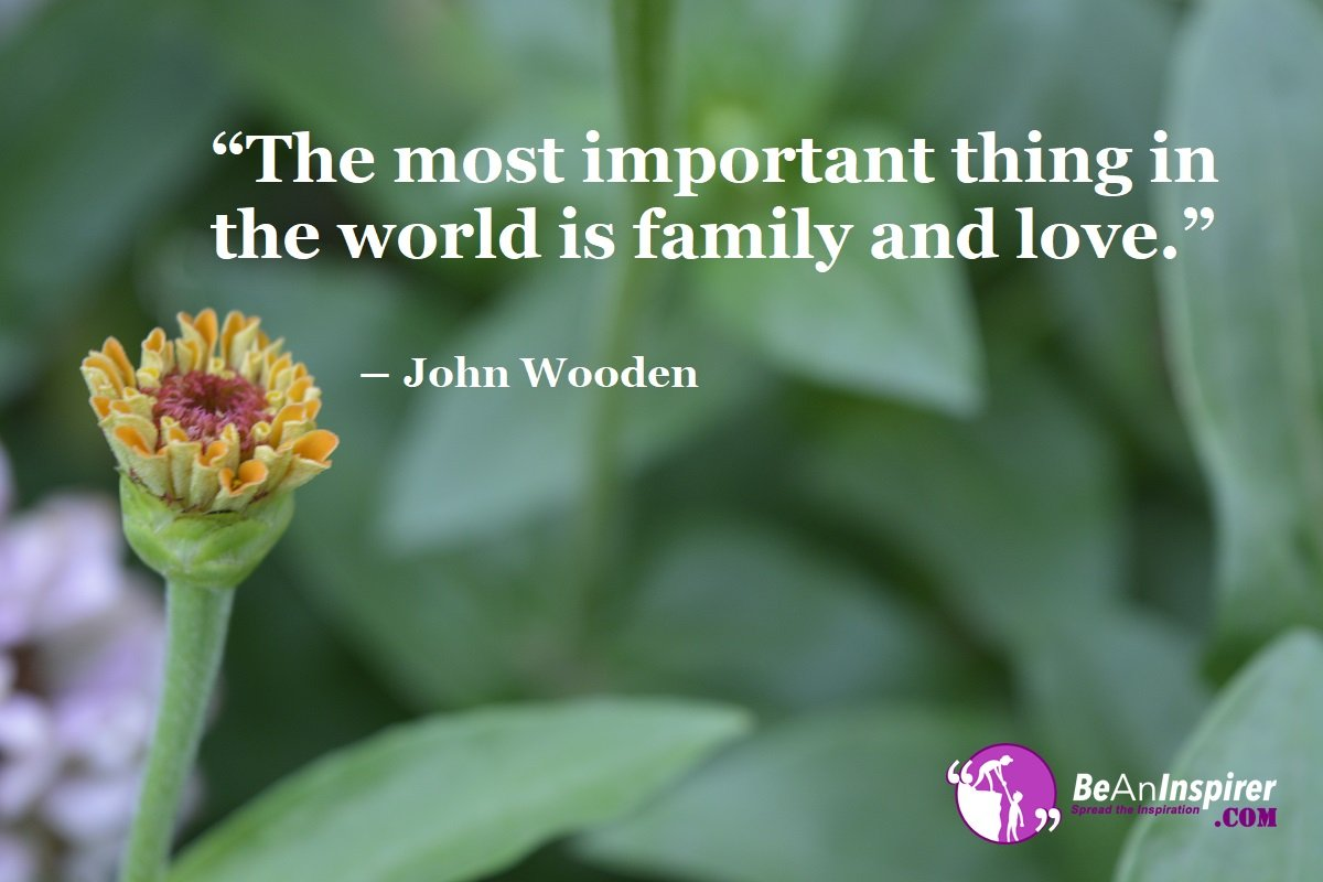 Importance of the Family Love in All the Phases of Life