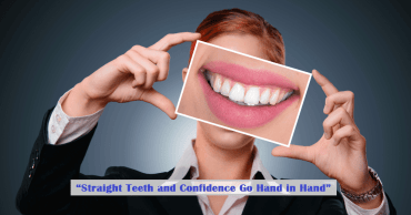 """Straight Teeth and Confidence Go Hand in Hand"""