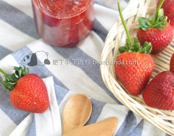 草莓果醬【士多啤梨】Homemade Strawberry Jam