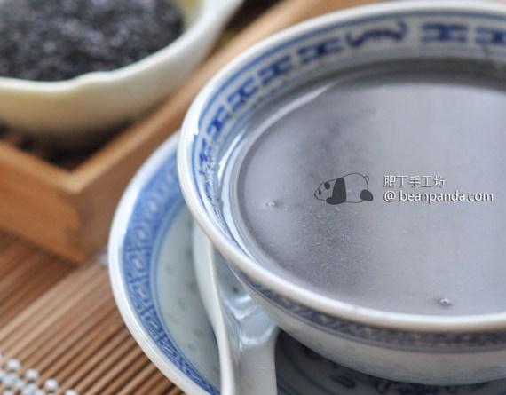 芝麻糊 【平民補品】Black Sesame Soup Recipe