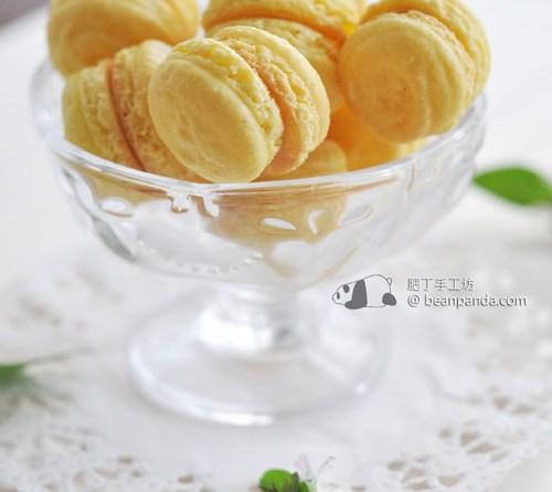 檸檬馬卡龍【意式蛋白霜版】Lemon Macarons