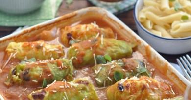 烤番茄醬椰菜卷【清淡聖誕二人餐】Tomato Sauce Cabbage Rolls