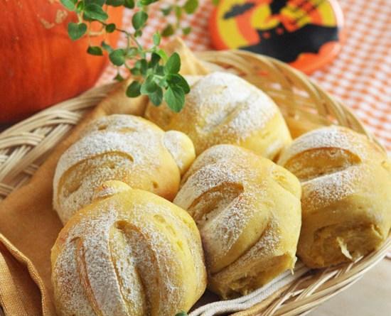 南瓜鮮奶湯種麵包【時令之選】Pumpkin Bread