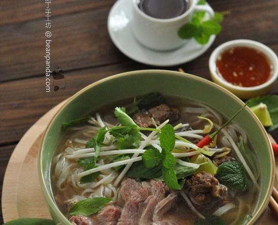 越南河粉【清湯濃郁 / 河粉幼滑】Hanoi Beef Noodle Soup