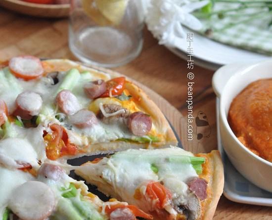 極速香脆薄餅【5分鐘麵糰/兩種披薩厚度】5 minutes Pizza Dough Recipe