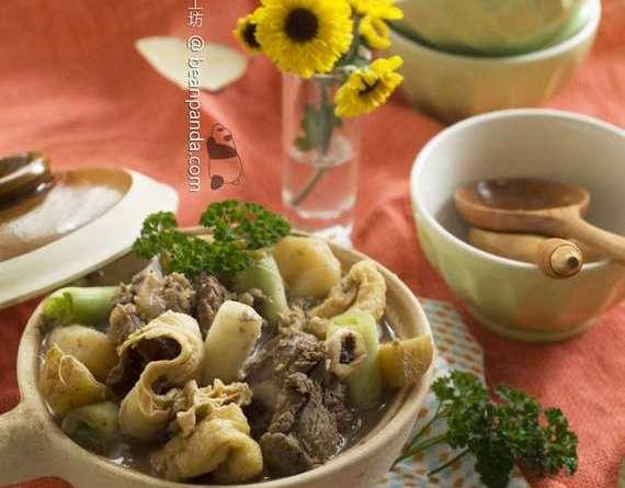 甘蔗枝竹羊腩煲【補而不燥不油膩】Stewed Mutton with Sugar Cane