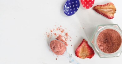 自製士多啤梨粉【草莓粉】Homemade Strawberry Powder