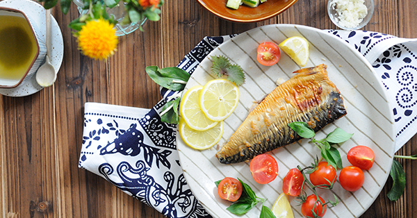 鹽燒鯖魚【鹽麴料理】Baked Mackerel