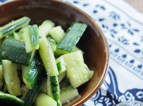 蒜拍青瓜【鹽麴料理】Garlic Cucumber