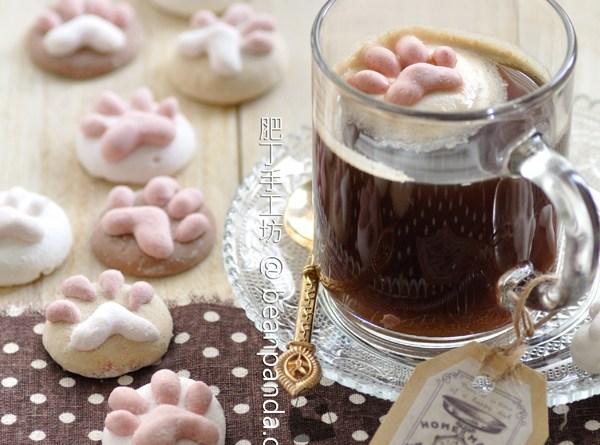 貓掌棉花糖【超萌日系糖果】Cat Paw Marshmallow