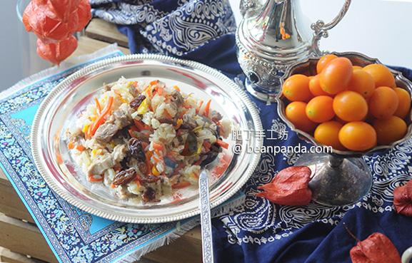 新疆羊肉手抓飯 大西北風味 鑄鐵鍋 Hand Mutton Rice