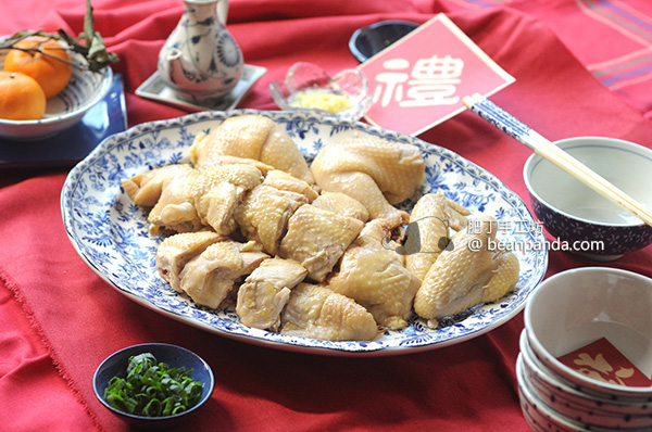 白切貴妃雞【鮮嫩爽滑】Poached Chicken in Spicy Sauce Recipe