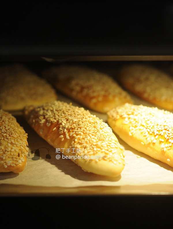 芝麻燒餅/叉子燒餅【外酥內香】Sesame Bread Pocket Recipe
