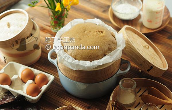 酵母馬拉糕 沒有泡打粉、小蘇打、吉士粉 Cantonese Steamed Sponge Cake Ma Lai Go (Baking Powder Free)