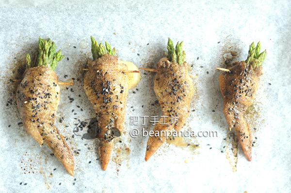 土匪釀雞翅 獨特香氣燒烤風味 皮脆肉多汁 Bandit Chicken Wings Mozzarella Cheese Asparagus Recipe