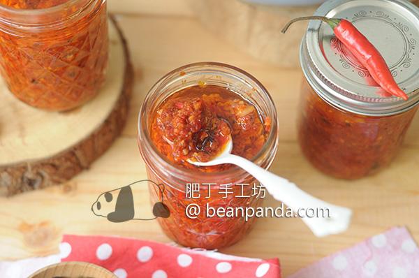自製辣椒醬 果泥天然發酵 辣度自己選 Homemade Chilli Paste Recipe