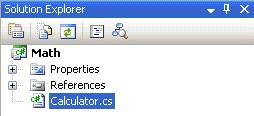 Adding Calculator class