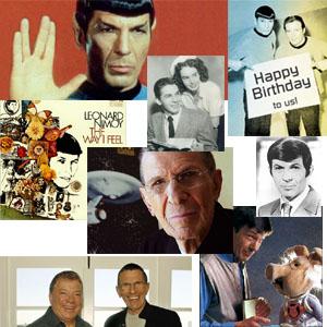 Leonard Nimoy 80th birthday