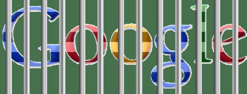 Google behind bars