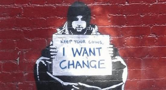 Seeking change